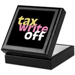 Tax Write Off Keepsake Box