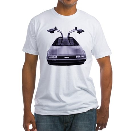 Something DeLOREAN Fitted T-Shirt