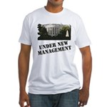under new management Fitted T-Shirt
