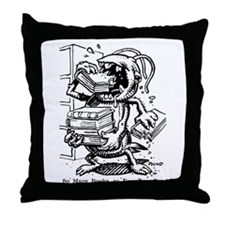 Silverfish Throw Pillow
