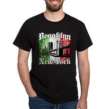 "Brooklyn ""Italian Flag"" T-Shirt"
