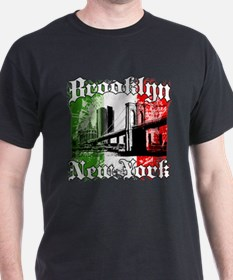 "Brooklyn ""Italian Flag"" T-Shirt"