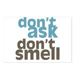 Don't Ask Don't Smell Postcards (Package of 8)