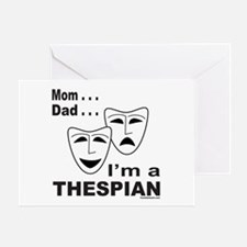ACTOR/ACTRESS/THESPIAN Greeting Card