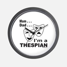 ACTOR/ACTRESS/THESPIAN Wall Clock