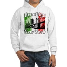 "Brooklyn""Italian Flag"" Hoodie"