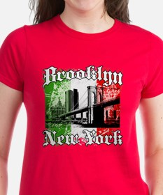 "Brooklyn""Italian Flag"" Tee"