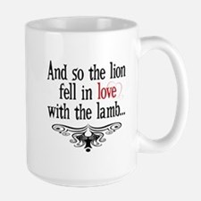 Lion & Lamb Swirl Large Mug