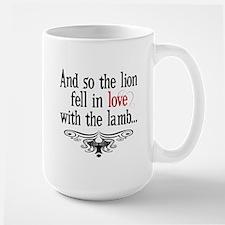 Lion & Lamb Swirl Mug