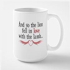 Lion & Lamb Heart Wings Mug