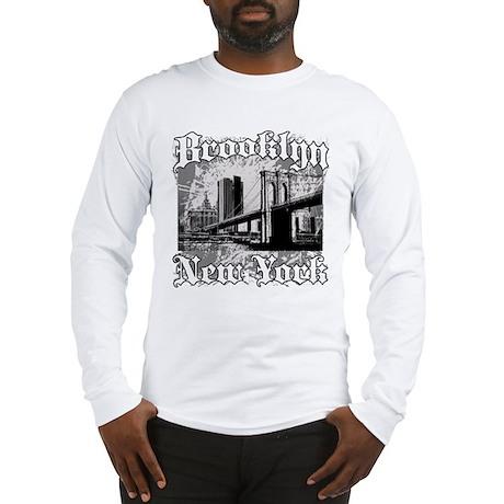 """Brooklyn """"Bridge"""" Long Sleeve T-Shirt"""