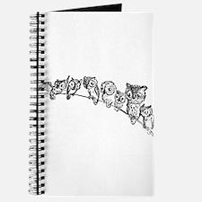 Owls in Tree Journal