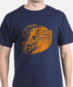 Liquid Courage Brewery - Color T-Shirt
