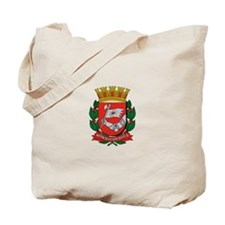 Cool Brazil coat of arms Tote Bag