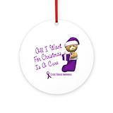 Cystic fibrosis ornaments Ornaments