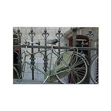 Amsterdam Bike Rectangle Magnet