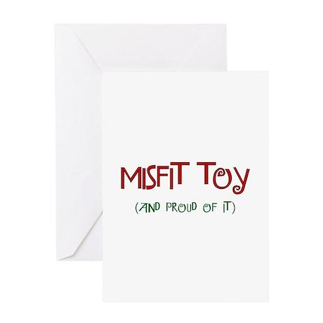 Misfit Toy Greeting Card