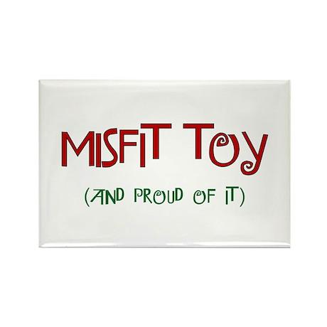 Misfit Toy Rectangle Magnet