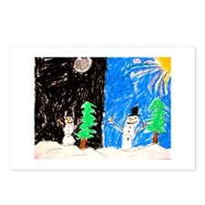 Unique Humanlight Postcards (Package of 8)