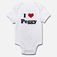 I Love Peggy Infant Bodysuit