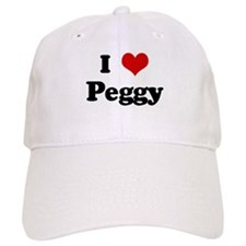 I Love Peggy Baseball Cap