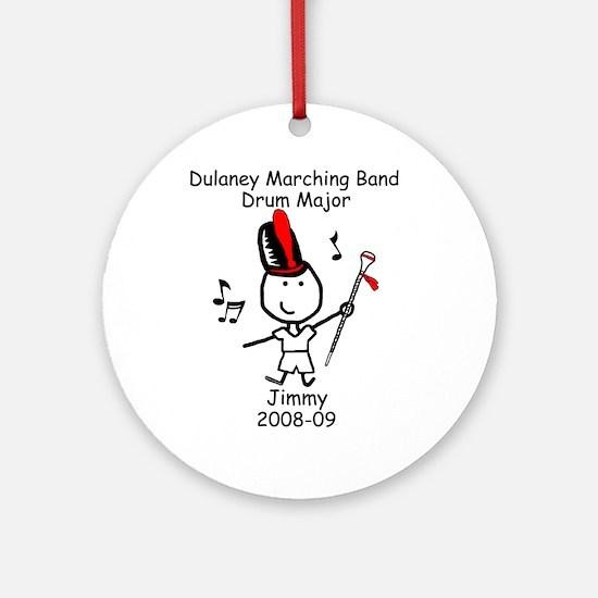 Drum Major - Jimmy Ornament (Round)