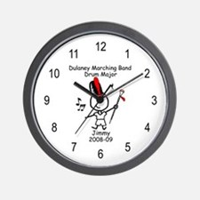 Drum Major - Jimmy Wall Clock