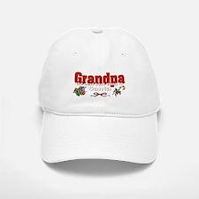 Grandpa, the next best thing to Santa Baseball Baseball Cap