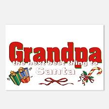 Grandpa, the next best thing to Santa Postcards (P
