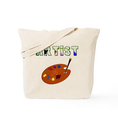 Artist Reusable Canvas Tote Bag