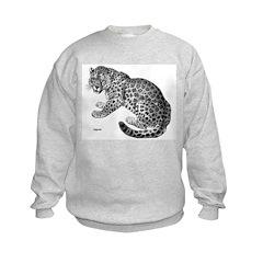 Jaguar Wild Cat (Front) Sweatshirt