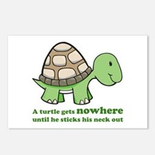 Turtle Neck Postcards (Package of 8)