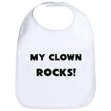 MY Clown ROCKS! Bib