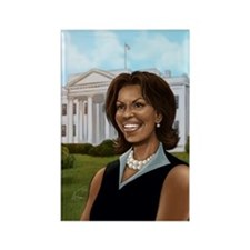 Michelle Obama Rectangle Magnet (10 pack)