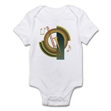 Trombone Deco Infant Bodysuit