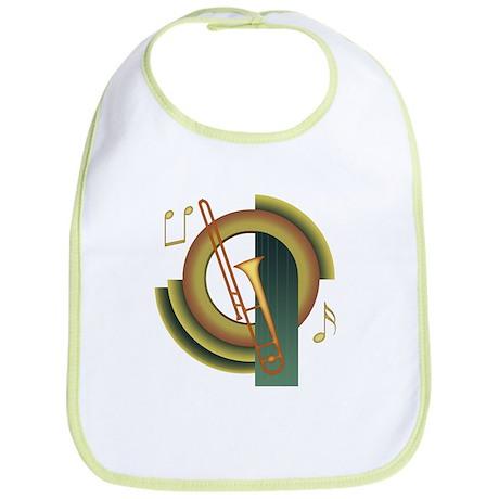 Trombone Deco Bib
