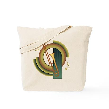 Trombone Deco Tote Bag