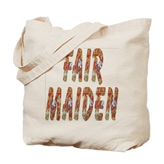 Fair Maiden Tote Bag