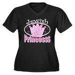Jewish Princess Women's Plus Size V-Neck Dark T-Sh