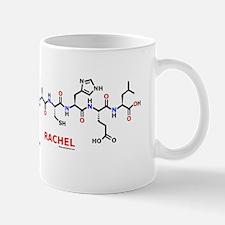 Rachel name molecule Mug