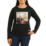 Barack Obama Inauguration Women's Long Sleeve Dark