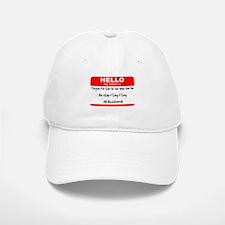 HELLO my name is Tarquin Baseball Baseball Cap