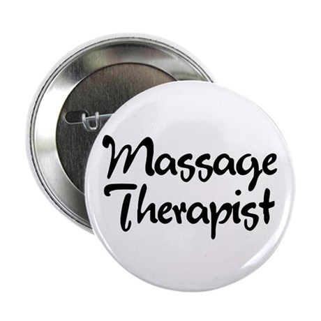 "Massage Therapist T-Shirt 2.25"" Button (100 p"