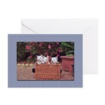 Retro Westie Greeting Cards (Pk of 20)