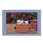 Retro Westie Postcards (Package of 8)