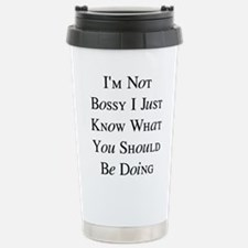 I'm Bossy Stainless Steel Travel Mug