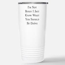 I'm Bossy Travel Mug