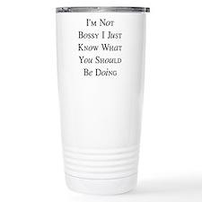 I'm Not Bossy Travel Mug
