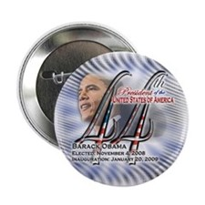 "44th President - (blue) - 2.25"" Button"