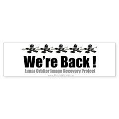 LOIRP We're Back Bumper Sticker (50 pk)